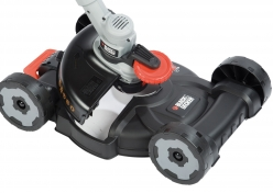 Trimmer Black+Decker 3-in1 City Akku-Kit STC1820 + CM100 im Test, Bild 2