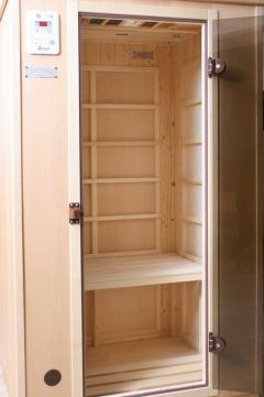 test sauna weka infrarot w rmekabine sehr gut. Black Bedroom Furniture Sets. Home Design Ideas